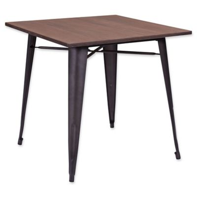 Zuo® Titus Rustic Wood Dining Table