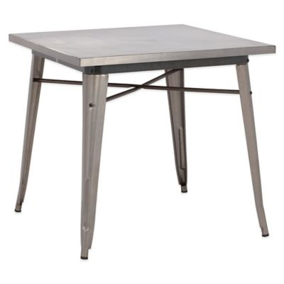 Zuo® Olympia Dining Table in Gunmetal