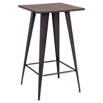 Zuo® Titus Rustic Wood Bar Table