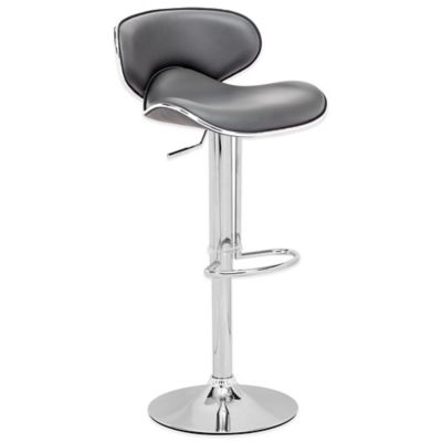 Zuo® Fly Bar Chair in Grey