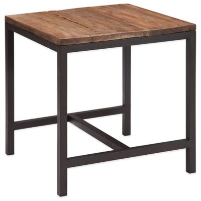 Zuo® Fitch Side Table in Distressed Natural
