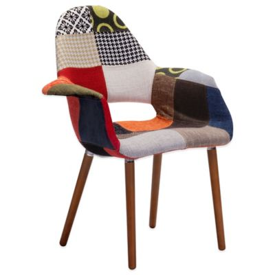 Zuo® Moshe Occasional Patchwork Chair