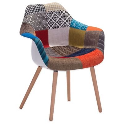 Zuo® Safdie Occasional Patchwork Chair
