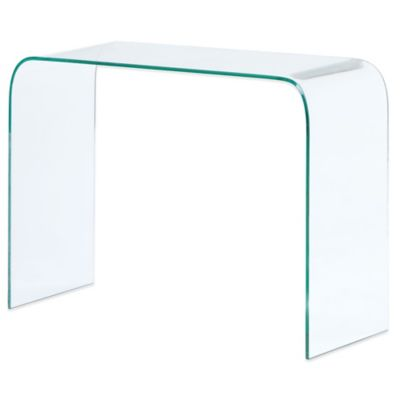 Zuo® Mecca Clear Console Table