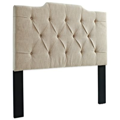 Tan King Headboard