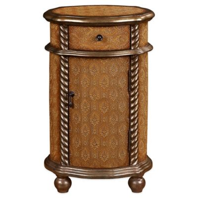Pulaski Emery Bliss Single Door Cabinet in Brown