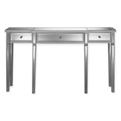 Pulaski Calwa 3-Drawer Mirrored Console Table