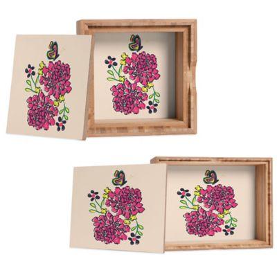 DENY Designs Small Vy La Budding Love Jewelry Box