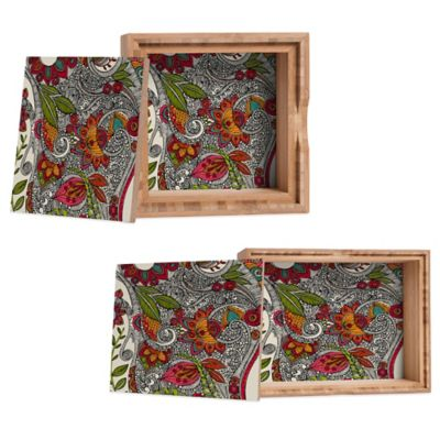 DENY Designs Small Valentina Ramos Random Flowers Jewelry Box