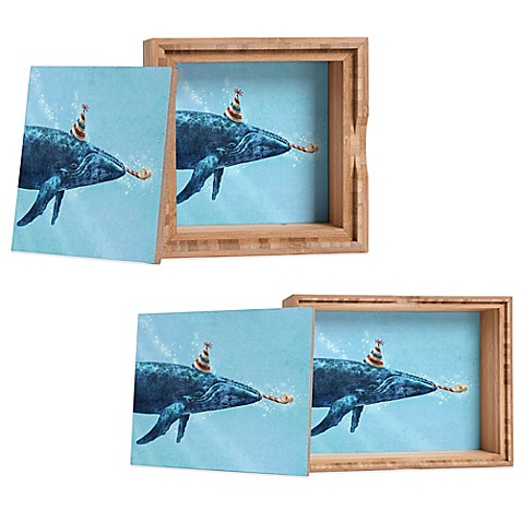 Deny designs terry fan party whale jewelry box for Terry pool design jewelry