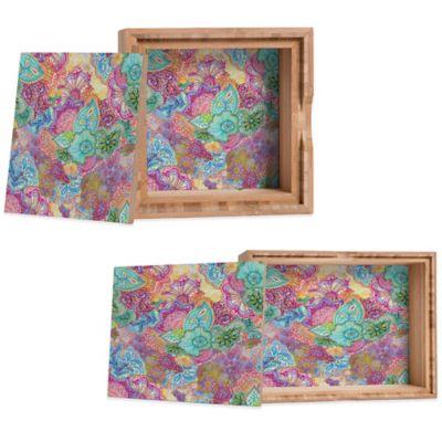 DENY Designs Small Stephanie Corfee Flourish Allover Jewelry Box