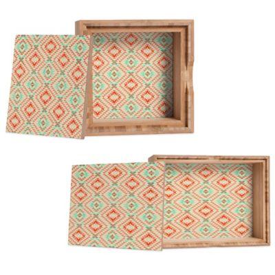 DENY Designs Medium Pattern State Tile Tribe Southwest Jewelry Box