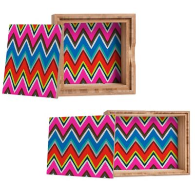 DENY Designs Medium Holli Zollinger Chevron Boheme Jewelry Box