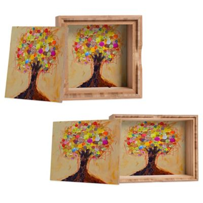 DENY Designs Small Elizabeth St. Hilaire Nelson Summer Tree Jewelry Box