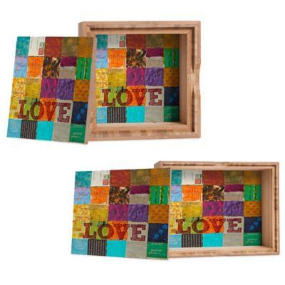 "DENY Designs Medium Elizabeth St. Hilaire Nelson ""Love"" Jewelry Box"