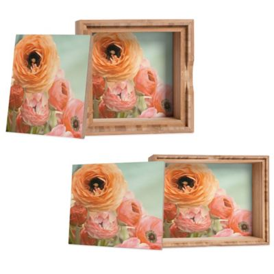 DENY Designs Medium Bree Madden Spring Ranunculus Jewelry Box