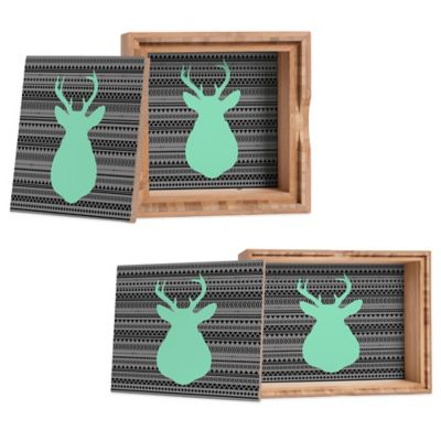 DENY Designs Small Allyson Johnson Deer and Aztec Jewelry Box