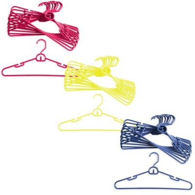 Merrick 72-Count Attachable Hangers in Yellow