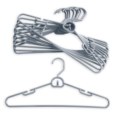 Merrick 72-Count Attachable Hangers in Silver
