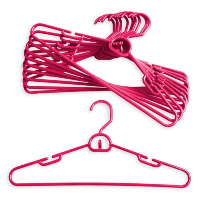 Merrick 72-Count Attachable Hangers in Pink