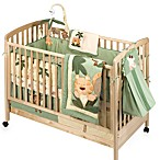 NoJo® Jungle Babies 6-Piece 100% Cotton Crib Bedding Set