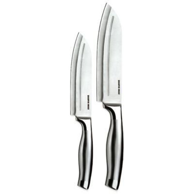 Steel Santoku Knife Set