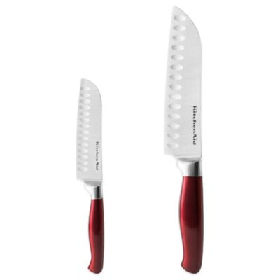 KitchenAid® 2-Piece Santoku Knife Set