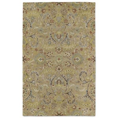 Kaleen Helena Collection Athena 2-Foot 6-Inch x 8-Foot Rug in Gold