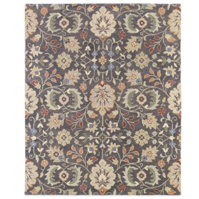 Kaleen Helena Collection Hera 2-Foot 6-Inch x 8-Foot Rug in Pewter