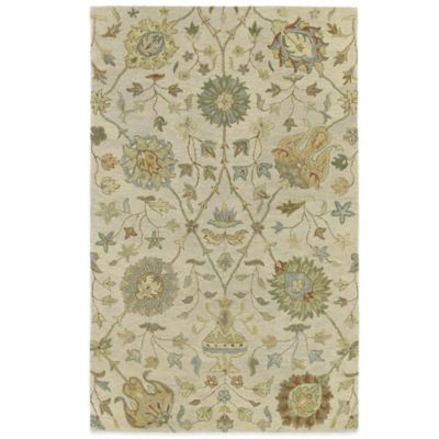 Kaleen Helena Collection Aphrodite 4-Foot x 6-Foot Rug in Ivory