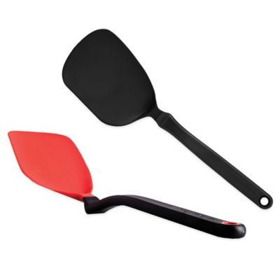 Dreamfarm® Chopula Chopping Spatula in Black