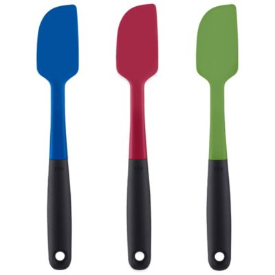OXO Good Grips® Small Silicone Spatula in Blue
