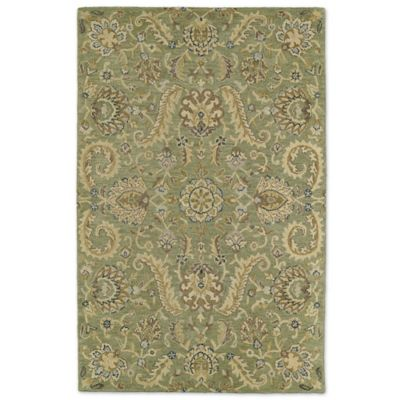 Kaleen Helena Collection Virgil 4-Foot x 6-Foot Rug in Green