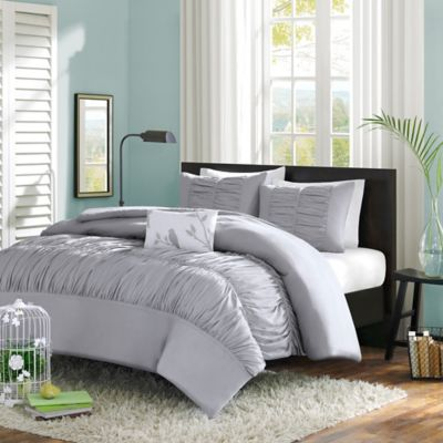 Mizone Mirimar Twin/Twin XL Comforter Set in Grey