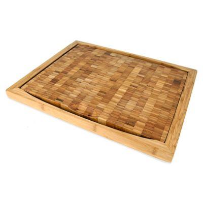 Curtis Stone Flipper 18-Inch x 14-Inch Bamboo Cutting Board