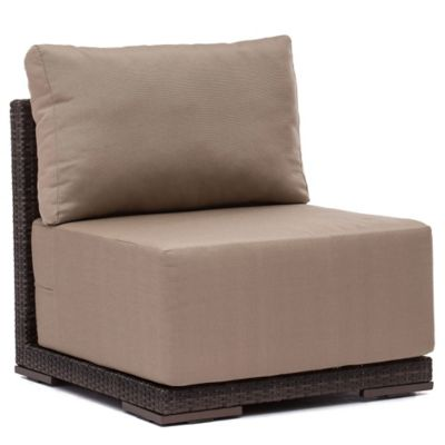 Zuo® Park Island Middle Chair in Brown