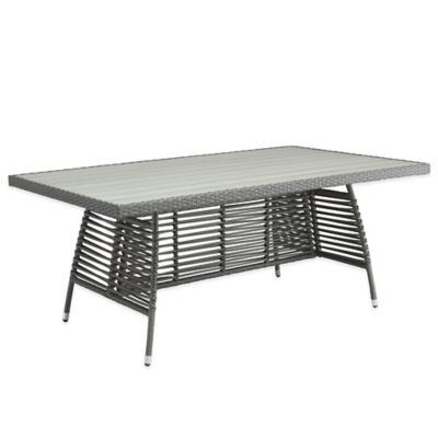 Zuo® Sandbanks Dining Table in Grey