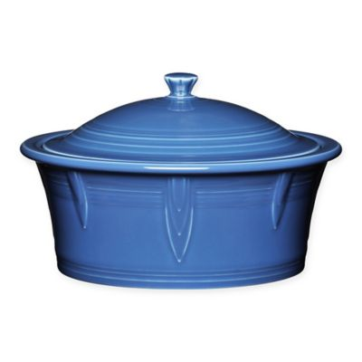 Fiesta® 90 oz. Covered Casserole Dish in Lapis