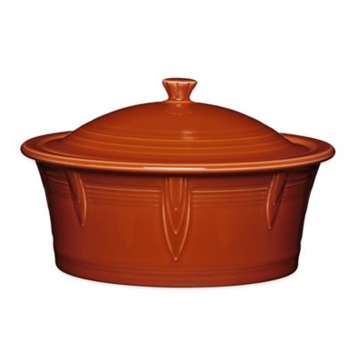 Fiesta® 90 oz. Covered Casserole Dish in Paprika