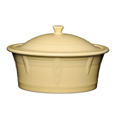 Fiesta® 90 oz. Covered Casserole Dish in Ivory
