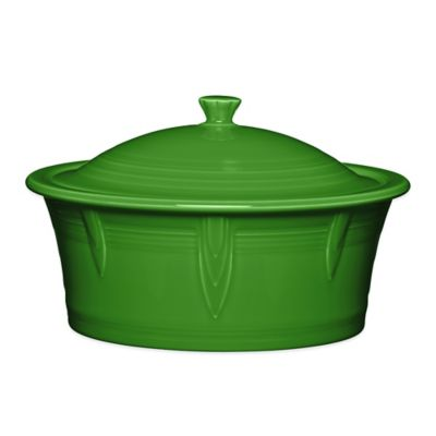 Fiesta® 90 oz. Covered Casserole Dish in Shamrock