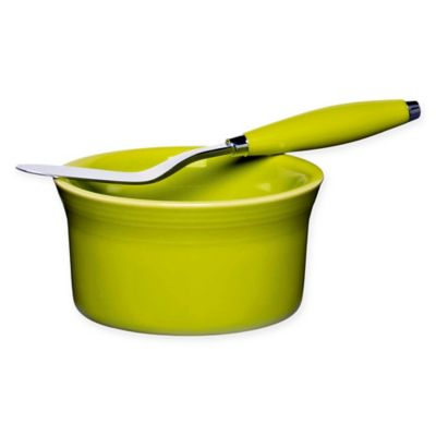 Fiesta® Dip and Spreader 2-Piece Set in Lemongrass