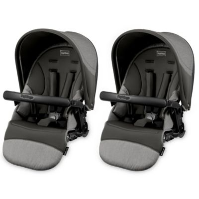 Peg Perego Duette SW Stroller Seats in Atmosphere (Set of 2)