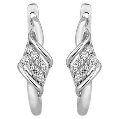Gold Silver Hoop Earrings