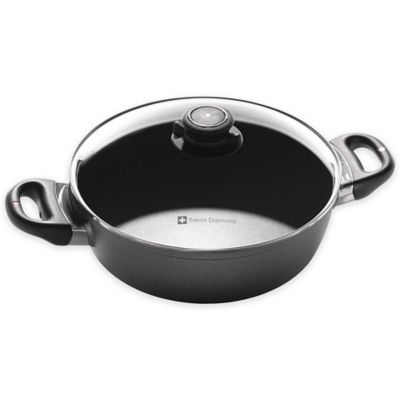 Swiss Diamond® 2.3 qt. Casserole with Lid