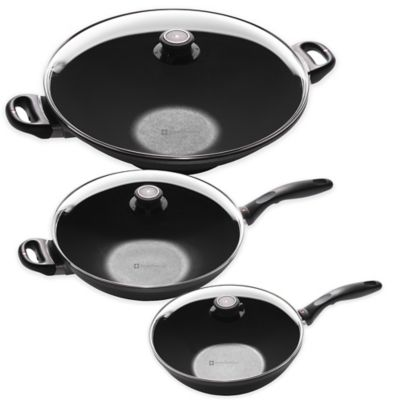 Swiss Diamond® 11-Inch Wok with Lid
