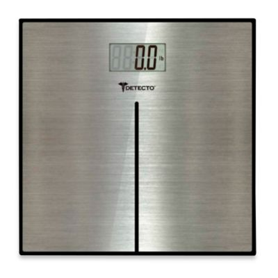 Detecto™ Stainless Steel Digital Scale