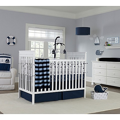 Nautica Kids 174 Mix Amp Match Crib Bedding Collection In Navy