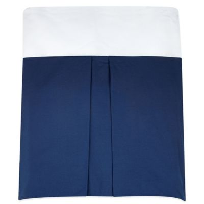 Nautica Kids® Mix & Match Crib Skirt in Navy