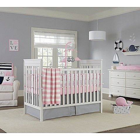 Nautica Kids Mix Match Crib Bedding Collection In Pink